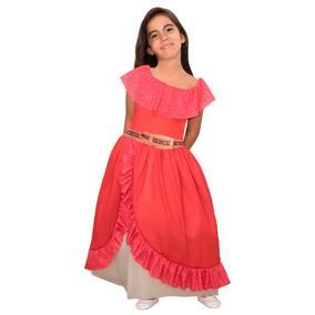 Disfraz De Elena De Avalor Con Luz Licencia Disney Original