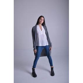 Sweater Mujer Saco Largo Cheng