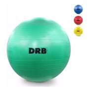 Pelota Esferodinamia Drb Gym Ball Yoga Pilates 65cm Inflador