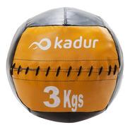 Medicine Ball Lona 3 Kgs Tipo Dinamax Pelota Crossfit Gym