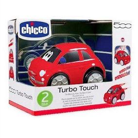 Carrinho Turbo Touch - Fiat 500 Vermelho - Chicco 7331070