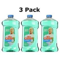 3 Pk Mr. Clean Limpiador Multi-superficies Líquido Con Febre