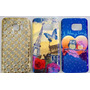 Case Personalizad + Película Vidro Celular Samsung Galaxy S7