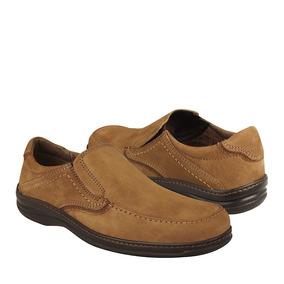 Flexi Zapatos Caballero Mocazines 92505 Gamuza Ocre
