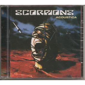 Scorpions - Acoustica - Cd Novo E Lacrado Reputação 100%