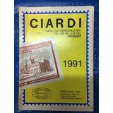 Ciardi, Catalogo Sellos Uruguay, Primera Edición, 426 Pag