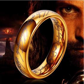 Anillo Único Poder El Hobbit El Señor De Los Anillos Titanio