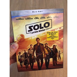 Star Wars : Solo - Blu Ray 100% Original