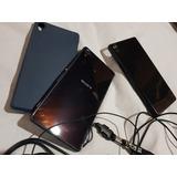 Sony Xperia Z3 + 2 Vidrios Templados + 2 Fundas