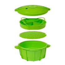 Panela De Pressão Para Microondas Easy Cooker 4 Litros Verde