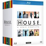 Box Blu-ray House A Série Completa 1-8 Original Com Nota