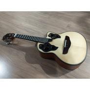 Cavaco Luthier Ariass Cutway Cedro/abeto Novo Com Garantia