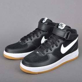 wholesale dealer e7883 be75e Zapatillas Nike Air Force 1 Mid Team Negro    Original 2018