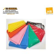 Manteles Descartables Plastico Polietileno 1.20x1.80 Color