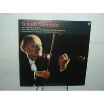 Yehudi Menuhin Violin Saint Saens Lalo Vinilo Argentino