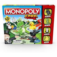 Juego De Mesa Monopoly Junior Animales Infantil Hasbro