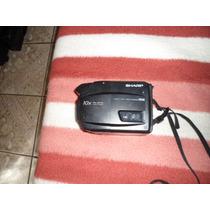 Antiga Filmadora Vhs F12m Sharp Model Vle-300b Não Funciona