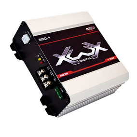 Boog Xwx 500.1 1 Canal 500 Watts Rms Amplificador 2 Ohms