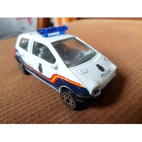 Renaut Twingo Policia Guisval Made In Espanha