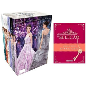 Livro Kit Box A Seleção Kiera Cass 7 Livros Novos Lacrados