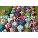 *super Kit 2150 Mini Capacillos Cupcake Panquecito Kekitos