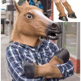 Mascara Cabeza Patas Caballo Tipo Harlem Shake Creepy Horse
