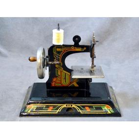 Antigua Máquina De Coser Miniatura Marca Casige Alemana 116