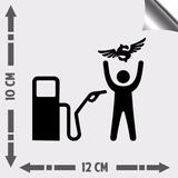 Vinil Adesivo Automotivo Carro Rebaixados Gasolina Assalto