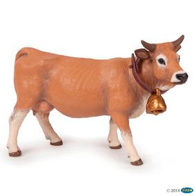 Vaca Allgäu Papo Aniaml Colección Pintado A Mano