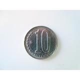 Moneda 10 Céntimos - Bolívar Fuerte 2007-2009