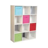 Estante +6cubos Librero Organizador 12 Cubos Niños Niñas