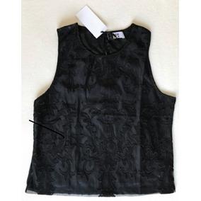 Remera De Mujer Koxis Musculosa Blusa Tipo Guipur