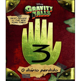 Livro O Diario Perdido De Gravity Falls Volume 03