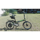 Bicicleta Eléctrica Aluminio 20 Sbk By Easy Ride Bike 500 W