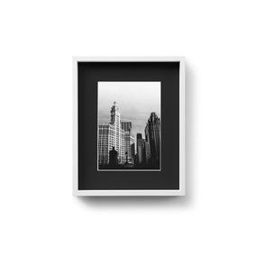 Portarretratos Marco Fotos Box 13x18 Fondo Negro Prestigio