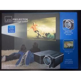 Mini Projetor Portátil Led - Usb - Promoçao