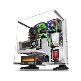 Gabinete Pc Gamer Thermaltake P3 Snow Edition Modular