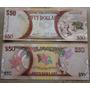 Billetes Mundiales: Guayana 50 Dolares Conmemorativo Nuevo