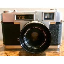 Câmera Yashica Rangefinder Yk Com Lente 45mm F/2.8
