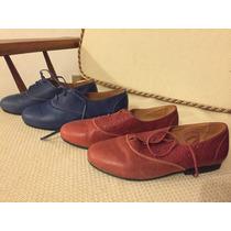 Zapatos Cuero Fabricación Chilena 34