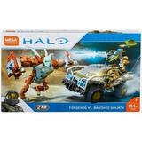 Halo Forgehog Contra Goliat Desterrado 654 Pz Mega Construx