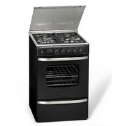 Cocina A Gas Longvie 20500g 56cm Grafito Encendido Una Mano