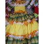 Vestido Junino Lindo Tema No Tamanho 14 Anos