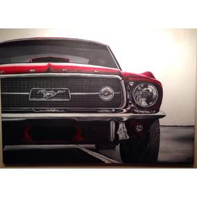 Pintura Al Óleo Sobre Tela, 2.00m X 1.40 Mustang67