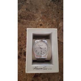 Reloj Kenneth Cole Mujer Plateado Envio Gratis