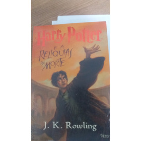 Livro Harry Potter - As Relíquias Da Morte