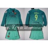 Conjunto De Niño Del Barcelona Nike 100% Original 9 Suarez !