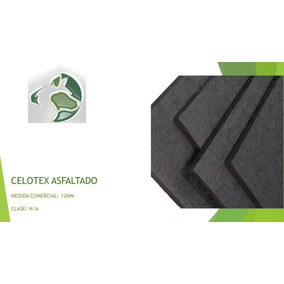 Celotex Impregnado Junta Constructiva Hoja 12mmx1.22x2.44mt