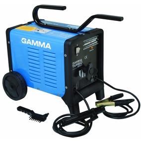 Soldadora Turbo 220 Gamma +escuadra+regalos Maxitools