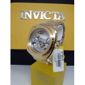 Relógio Invicta Aviator Modelo 25235, Pulseira Em Aço